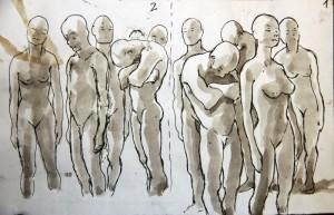 Boceto Pintura Mural